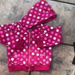 Other - Polka dot hoodie